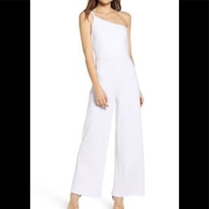 Leith One Shoulder Sleeveless jumpsuit